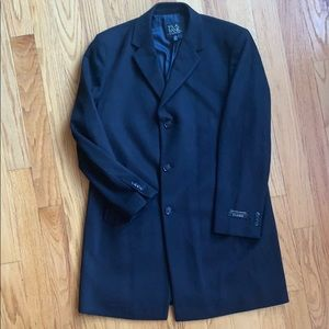 JoS. A. Bank Executive Collection Wool Topcoat